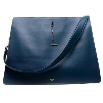 Replica Celine Classic 171413 Cross Body Bag Cow Leather Blue