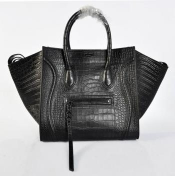 Luxury Replica Celine Classic 306 Handbag Crocodile